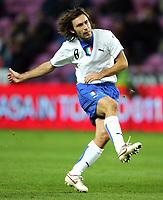 Geneve / Ginevra 16/11/2005 Amichevole / Friendly match<br /> Italia Costa D'Avorio - Italie Cote d'Ivoire <br /> Italy Ivory Coast 1-1<br /> Andrea Pirlo Italy<br /> Photo Andrea Staccioli Graffiti