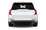 Straight rear view of 2015 Volvo XC90 Inscription7 5 Door SUV Rear View  stock images