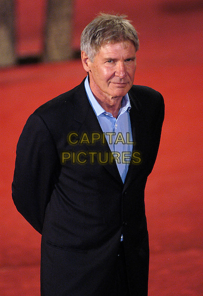 HARRISON FORD .arrives at the Patricia McQueeney Award Dinner Party Hosted By Vanity Fair on the eighth day of Rome Film Festival (Festa Internazionale di Roma) at the Etruscan Museum Valle Giulia, Rome, Italy, October 20th 2006..half length red carpet .Ref: CAV.www.capitalpictures.com.sales@capitalpictures.com.©Luca Cavallari/Capital Pictures.