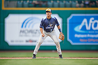 West Michigan Whitecaps third baseman Colby Bortles (30) during a game against the Fort Wayne TinCaps on May 17, 2018 at Parkview Field in Fort Wayne, Indiana.  Fort Wayne defeated West Michigan 7-3.  (Mike Janes/Four Seam Images)