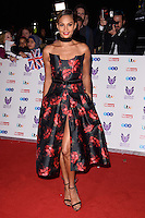 Alesha Dixon<br /> at the Pride of Britain Awards 2016, Grosvenor House Hotel, London.<br /> <br /> <br /> ©Ash Knotek  D3191  31/10/2016
