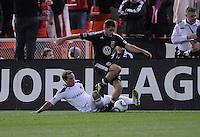 DC United defender Chris Korb (22).  DC United tied Los Angeles Galaxy 1-1, at RFK Stadium, Saturday April 9, 2011.