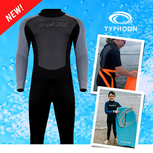 Typhoon Swarm3 wetsuits at CH Marine