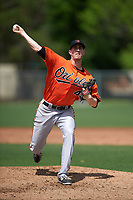 Baltimore Orioles Tim Sexton (44) during a minor league Spring Training game against the Minnesota Twins on March 16, 2016 at CenturyLink Sports Complex in Fort Myers, Florida.  (Mike Janes/Four Seam Images)