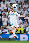 Daniel Carvajal Ramos of Real Madrid in action during the La Liga 2017-18 match between Real Madrid and Athletic Club Bilbao at Estadio Santiago Bernabeu on April 18 2018 in Madrid, Spain. Photo by Diego Souto / Power Sport Images
