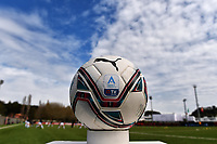 The women serie A official Puma ball is seen prior to the Women Serie A football match between AS Roma and FC Internazionale at stadio Agostino Di Bartolomei, Roma, March 20th, 2021. AS Roma won 4-3 over FC Internazionale. Photo Andrea Staccioli / Insidefoto