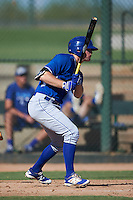 Kansas City Royals Taylor Ostrich (40) during an instructional league game against the San Francisco Giants on October 23, 2015 at the Papago Baseball Facility in Phoenix, Arizona.  (Mike Janes/Four Seam Images)