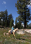 Images from a horseback ride to Granite Lake in Alpine County, Ca., on Wednesday, Sept. 14, 2011. .Photo by Cathleen Allison