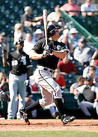 Jim Thome  -  Chicago White Sox - 2009 spring training.Photo by:  Bill Mitchell/Four Seam Images