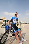 Tyler Farrar (USA) Garmin-Cervelo before the start of the 1st Stage of the 2012 Tour of Qatar running from Umm Slal Mohammed to Doha Golf Club, Doha, Qatar, 5th February 2012 (Photo Eoin Clarke/Newsfile)