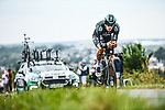 Daniel Oss (ITA) Bora-Hansgrohe in action during Stage 5 of the 2021 Tour de France, an individual time trial running 27.2km from Change to Laval, France. 30th June 2021.  <br /> Picture: A.S.O./Charly Lopez | Cyclefile<br /> <br /> All photos usage must carry mandatory copyright credit (© Cyclefile | A.S.O./Charly Lopez)