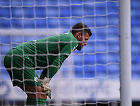 3rd October 2020; Madejski Stadium, Reading, Berkshire, England; English Football League Championship Football, Reading versus Watford; Ben Foster of Watford after letting in a goal late in the 1st half