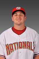 14 March 2008: ..Portrait of Zach Booker, Washington Nationals Minor League player at Spring Training Camp 2008..Mandatory Photo Credit: Ed Wolfstein Photo