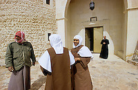 SYRIEN Kloster in Qara in der Diozese von Homs, Melkite Greek Catholic monastery of St James the Mutilated in Qara / SYRIA Melkite Greek Catholic monastery of St James the Mutilated in Qara in the dicesese of Homs