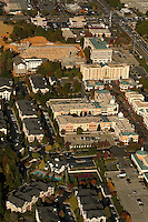 Aerial view of Charlotte's Phillips Place mall.