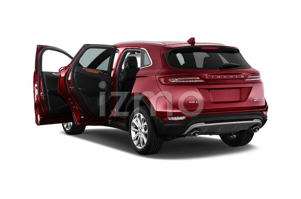 Car images of a 2018 Lincoln MKC FWD 5 Door SUV Doors