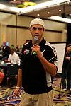 "2009 World Champion Joe Cada says ""Shuffle Up and Deal."""