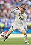 Luka Modric of Real Madrid in action during their La Liga match between Real Madrid and Deportivo Alaves at the Santiago Bernabeu Stadium on 02 April 2017 in Madrid, Spain. Photo by Diego Gonzalez Souto / Power Sport Images