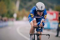 Laurens De Plus (BEL/QuickStep Floors) rolling in<br /> <br /> UCI MEN'S TEAM TIME TRIAL<br /> Ötztal to Innsbruck: 62.8 km<br /> <br /> UCI 2018 Road World Championships<br /> Innsbruck - Tirol / Austria