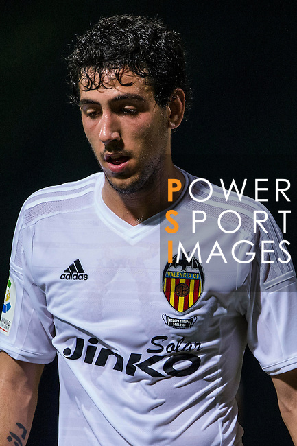 Daniel Parejo of Valencia CF looks on LFP World Challenge 2014 between Valencia CF vs Villarreal CF on May 28, 2014 at the Mongkok Stadium in Hong Kong, China. Photo by Victor Fraile / Power Sport Images
