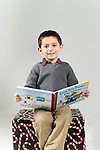 WATERBURY, CT- 10 December 2015-121015EC05-  Christmas Kids Metro. Jake Rizzetta, 5, of Waterbury, is asking for a toy train for Christmas. Erin Covey Republican-American