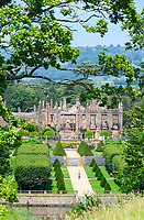 BNPS.co.uk (01202 558833)<br /> Pic: GrahamHunt/BNPS<br /> <br /> The ruins of Parnham House <br /> <br /> A £15m stately home has gone back on the market for a cut-price £2.5m after it was burnt to the ground in a suspected arson attack.<br /> <br /> Grade I listed Parnham House, near Beaminster, Dorset, is now just a charred shell of the magnificent mansion it once was following the blaze in April 2017.<br /> <br /> Its owner, hedge fund manager Michael Treichl, was arrested on suspicion of arson only to later drown in an apparent suicide. <br /> <br /> A sale for £3m was agreed for the Elizabethan manor fell through earlier this year and it has now been listed for sale again.
