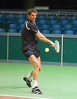 Tennis, Netherlands, Rotterdam, ABNAMROWTT 2011, Paul Haarhuis,