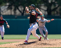 STANFORD, CA - JUNE 4: Alex Williams during a game between North Dakota State and Stanford Baseball at Sunken Diamond on June 4, 2021 in Stanford, California.