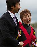 Orfevre wins the Kikuka Sho & the Triple Crown at Kyoto Racecourse on October 23rd, 2011