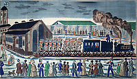 Departure from the Moscow Rail Terminal in St. Petersburg<br />