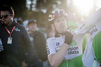 Julien Vermote (BEL/Dimension Data) post-race<br /> <br /> Stage 7: Nice to Col de Turini (181km)<br /> 77th Paris - Nice 2019 (2.UWT)<br /> <br /> ©kramon