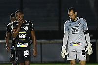 Rio de Janeiro (RJ), 24/01/2021  - Fluminense-Botafogo - Jogadores do Botafogo,durante partida contra o Fluminense,válida pela 32ª rodada do Campeonato Brasileiro 2020,realizada no Estádio de São Januário,na zona norte do Rio de Janeiro,neste domingo (24).