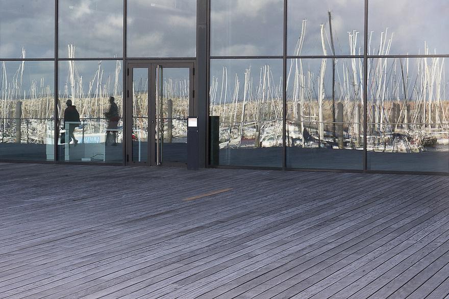 Roscoff - Bretagna, 27 agosto 2020.  Il porto da diporto.
