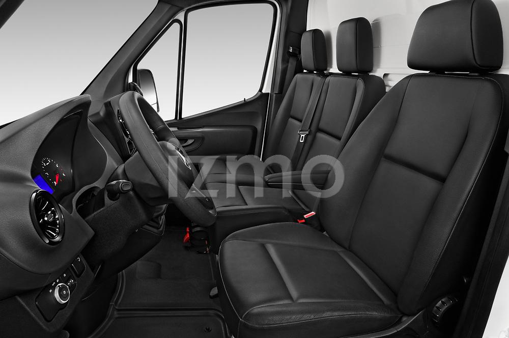 Front seat view of 2019 Mercedes Benz Sprinter-Box-Van - 2 Door Chassis Cab Front Seat  car photos