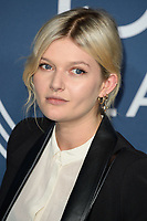 Sophie Kennedy Clarke<br /> arriving for the 2018 IWC Schaffhausen Gala Dinner in Honour of the BFI at the Electric Light Station, London<br /> <br /> ©Ash Knotek  D3437  09/10/2018