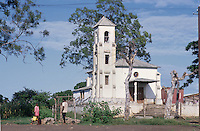 - catholic Christian church in the village of Nhamatanda....- chiesa cristiana cattolica nel villaggio di Nhamatanda