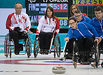 Ina Forrest and Dennis Thiessen, Sochi 2014 - Wheelchair Curling // Curling en fauteuil roulant.<br />