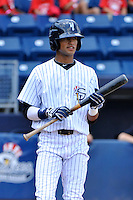 Staten Island Yankees outfielder Mason Williams #59 during a game against the Jamestown Jammers at Richmond County Bank Ballpark at St. George on August 01, 2011 in Staten Island, NY.  Staten Island defeated Jamestown 5-0.  Tomasso DeRosa/Four Seam Images