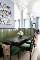 Corner dining sofa