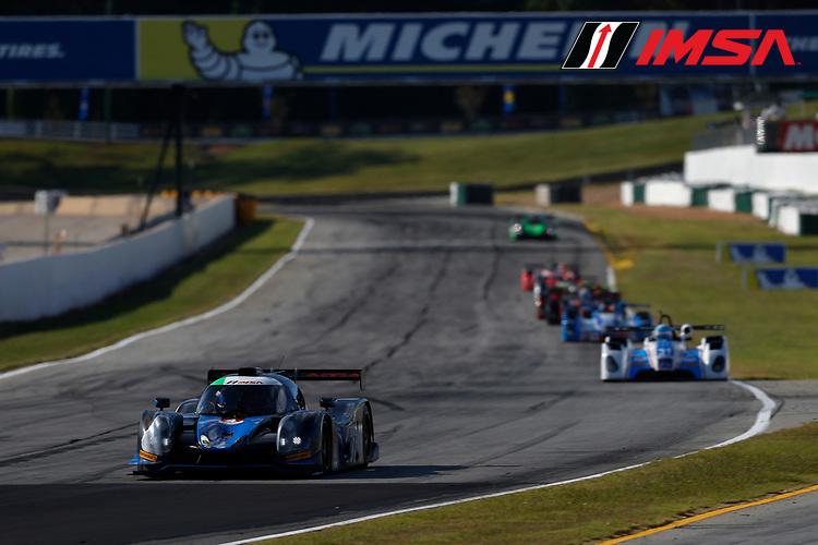 IMSA Prototype Challenge Presented by Mazda<br /> Road Atlanta<br /> Road Atlanta, Braselton GA<br /> Thursday 5 October 2017<br /> 4, Matthew Dicken, LMP3, Ligier JS P3<br /> World Copyright: Jake Galstad<br /> LAT Images