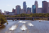 ChampBoat Racing on the Mississippi River, Minneapolis, MN