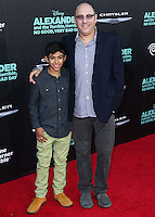 HOLLYWOOD, LOS ANGELES, CA, USA - OCTOBER 06: Nathen Garson, Willie Garson arrives at the World Premiere Of Disney's 'Alexander And The Terrible, Horrible, No Good, Very Bad Day' held at the El Capitan Theatre on October 6, 2014 in Hollywood, Los Angeles, California, United States. (Photo by Xavier Collin/Celebrity Monitor)