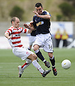 15/03/2008    Copyright Pic: James Stewart.File Name : sct_jspa06_hamilton_v_dundee.ALEX NIEL CLEARS FROM DEREK LYLE.James Stewart Photo Agency 19 Carronlea Drive, Falkirk. FK2 8DN      Vat Reg No. 607 6932 25.Studio      : +44 (0)1324 611191 .Mobile      : +44 (0)7721 416997.E-mail  :  jim@jspa.co.uk.If you require further information then contact Jim Stewart on any of the numbers above........