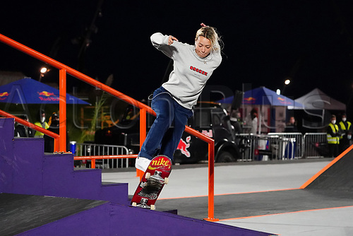 6th November 2020; Parc del Forum, Barcelona, Catalonia, Spain; Imagin Extreme Barcelona;  Cata Diaz (ESP) during the womens street final