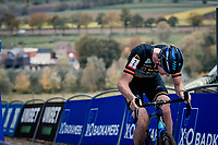 Toon Aerts (BEL/Telenet-Baloise Lions) in the final ascent up the brutal Koppenberg.<br /> <br /> Koppenbergcross 2020 (BEL)<br /> men's race<br /> <br /> ©kramon
