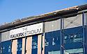 Falkirk Stadium Roof Damage Jan 2012