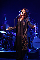 Montreal (Qc) Canada - March 6, 2008 -<br /> <br /> Laurence Jalbert in concert <br /> <br /> photo :  Agence Quebec Presse