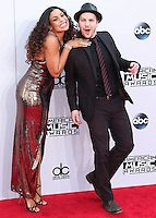 LOS ANGELES, CA, USA - NOVEMBER 23: Jordin Sparks, Gavin DeGraw arrive at the 2014 American Music Awards held at Nokia Theatre L.A. Live on November 23, 2014 in Los Angeles, California, United States. (Photo by Xavier Collin/Celebrity Monitor)