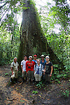 SBSJ Group In Front Of Large Tree Tiputini