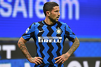 Stefano Sensi of FC Internazionale reacts during the Serie A football match between FC Internazionale and ACF Fiorentina at stadio San Siro in Milano (Italy), September 26th, 2020. Photo Andrea Staccioli / Insidefoto